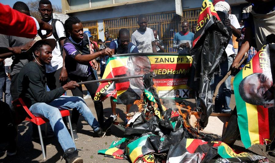 Elecciones en Zimbabwe