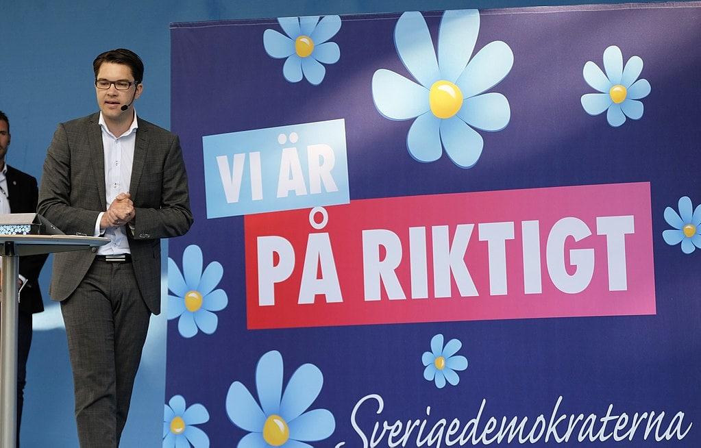 Suecia, Jimmie, extrema derecha
