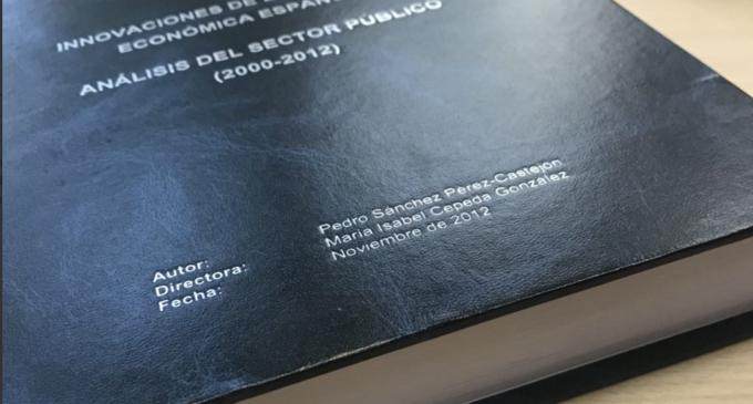 'La Marea' ya investigó la tesis de Pedro Sánchez en 2015