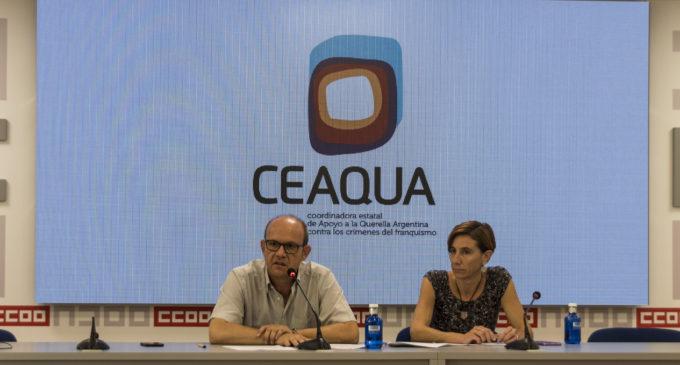 CEAQUA pide a Sánchez que juzge los crímenes del franquismo