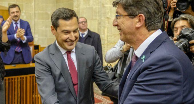 Fórmulas lingüísticas del nuevo gobierno andaluz
