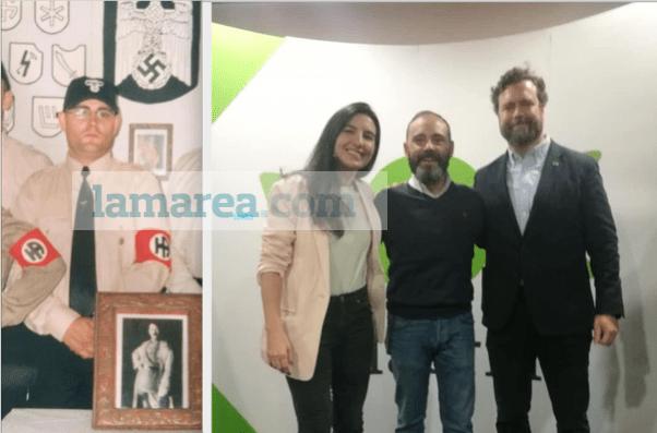 Jorge Bonito, de aquelarres nazis en Hermandad Aria al número 7 en las listas de Vox en Alcalá de Henares