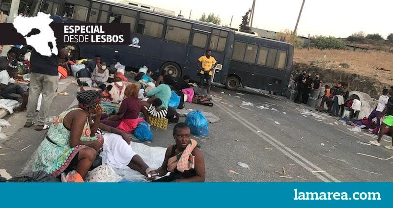 ESPECIAL DESDE LESBOS   Moria, un laboratorio del odio (3)   lamarea.com